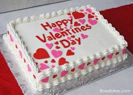1 Kg Pineapple square Cake icing Happy Valentines Day