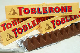 Pack of 4 toblerone 100 gm each